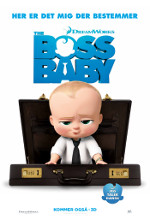 The Boss Baby - 3D - Dansk Tale