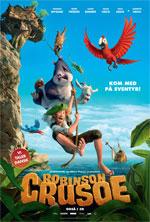 Robinson Crusoe - 3D - Med Dansk Tale