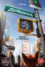 Zootropolis - 3D - Med Dansk Tale