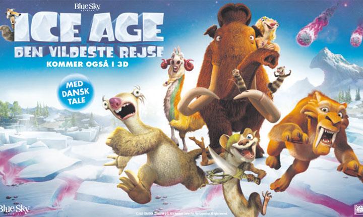 Ice Age - Den Vildeste Rejse