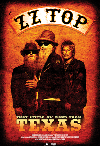 ZZ Top: That Little Ol Band from Texas - CIN B_poster