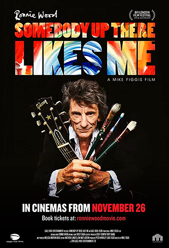 Ron Wood - Somebody Up There Likes Me - CIN B_poster