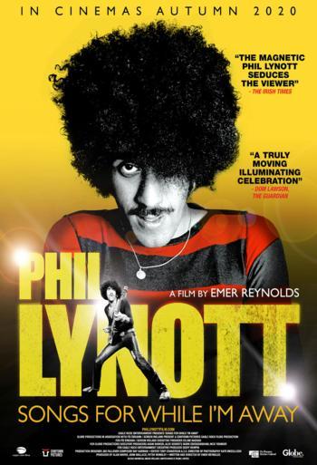Phil Lynott: Songs for While Im Away - CIN B_poster