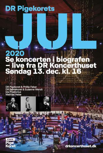 DR Pigekorets Jul - direkte fra DR Koncerthuset_poster