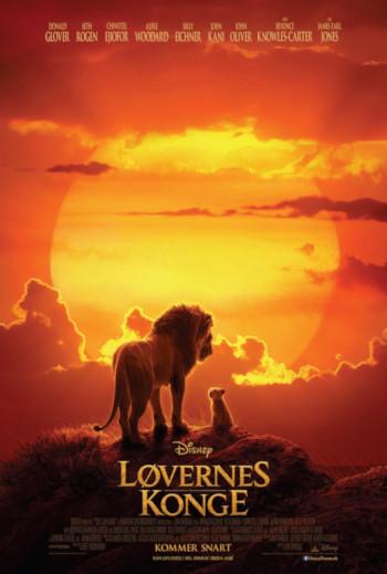 Løvernes Konge - Med dansk tale_poster