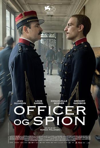 Officer og Spion_poster