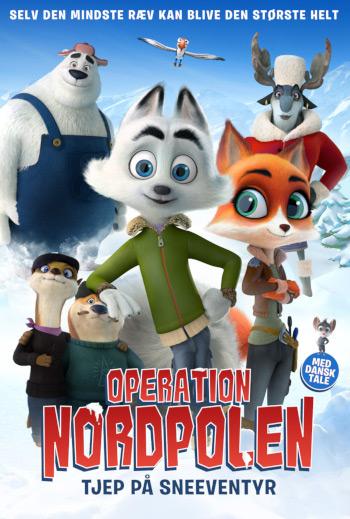Operation Nordpolen - Tjep på sneeventyr_poster