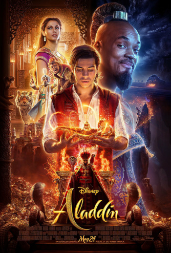 Aladdin - Med dansk tale_poster