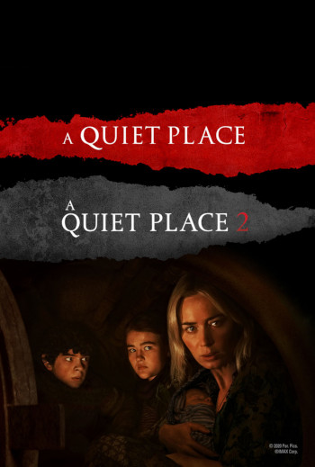 A Quiet Place 1 & 2_poster