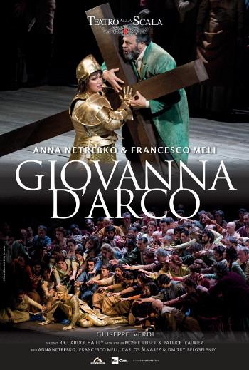 OperaKino - GIOVANNA D'ARCO, La Scala 7. dec. 2020_poster