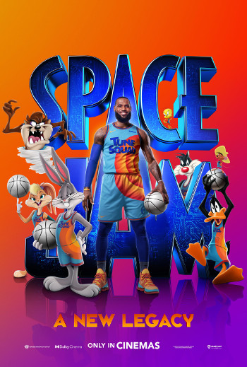 Space Jam: A New Legacy - Med dansk tale_poster