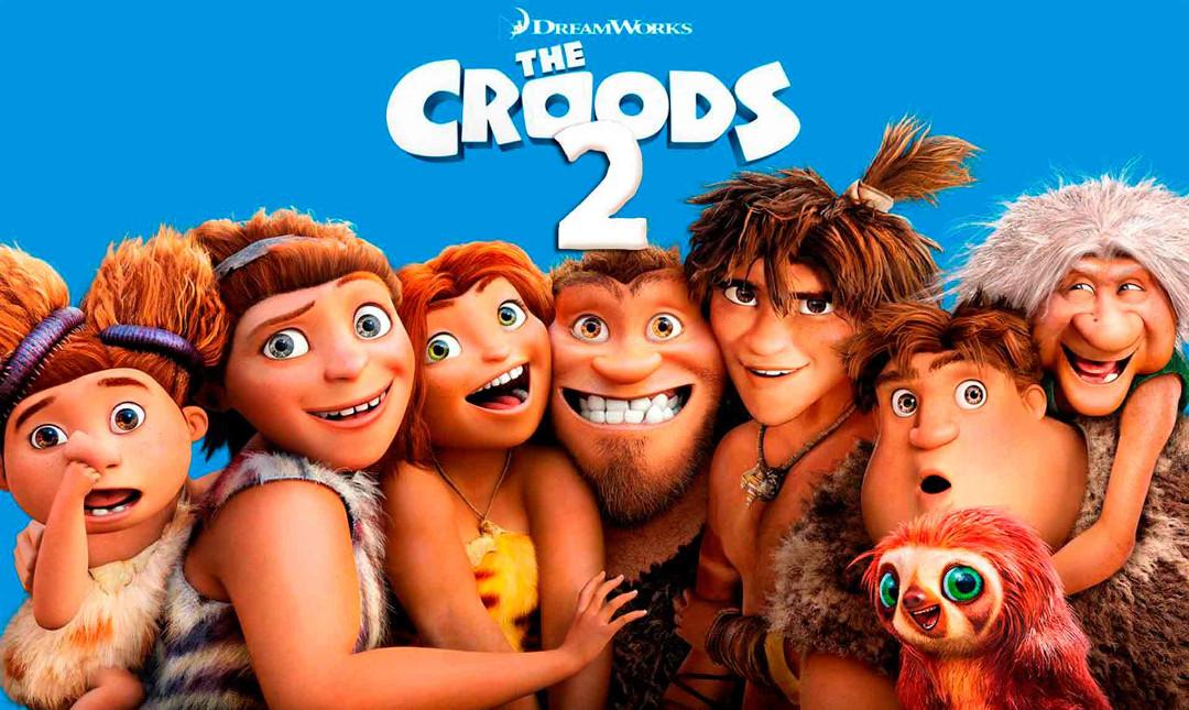 Croods 2 - En ny tid - Med dansk tale_poster