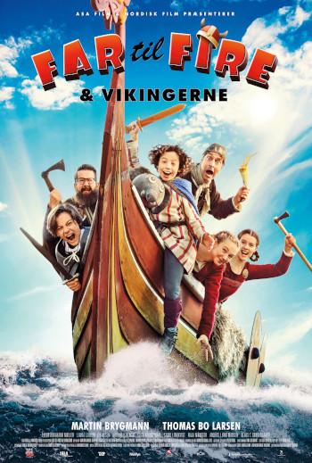 Far til fire og Vikingerne_poster