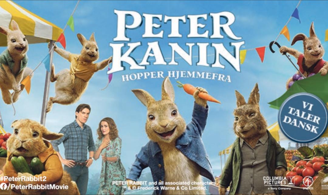 Peter Kanin hopper hjemmefra_poster