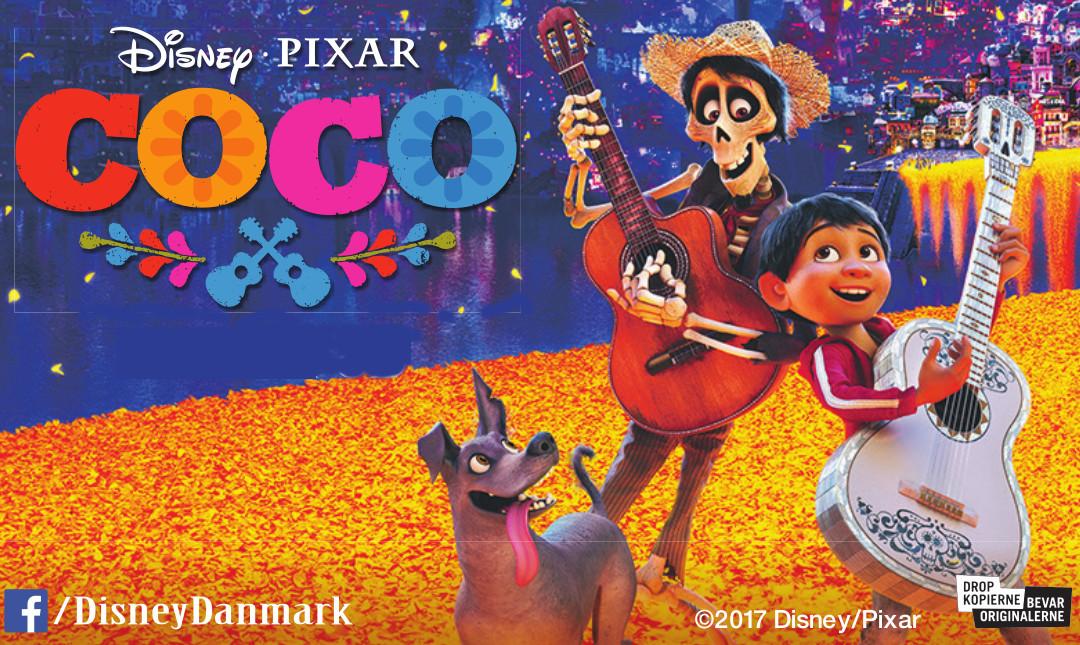 Coco - Med dansk tale_slide_poster
