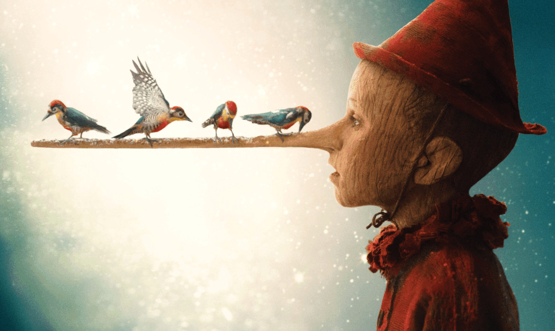 Pinocchio - Med dansk tale_slide_poster