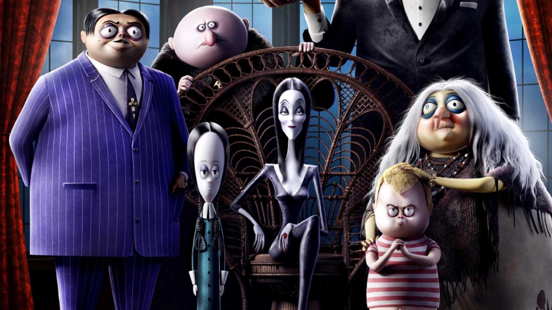 Familien Addams - Med dansk tale_slide_poster