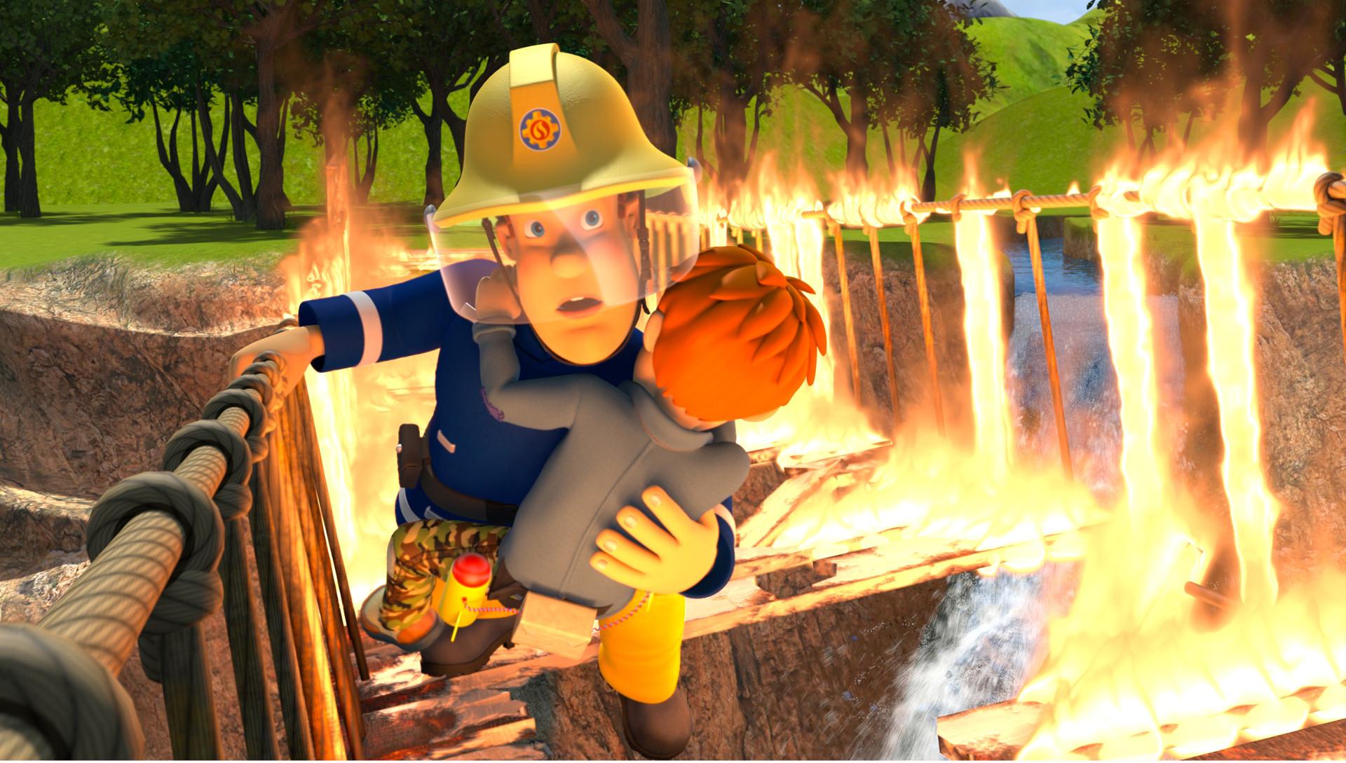 Brandmand Sam - Klar til action!_slide_poster