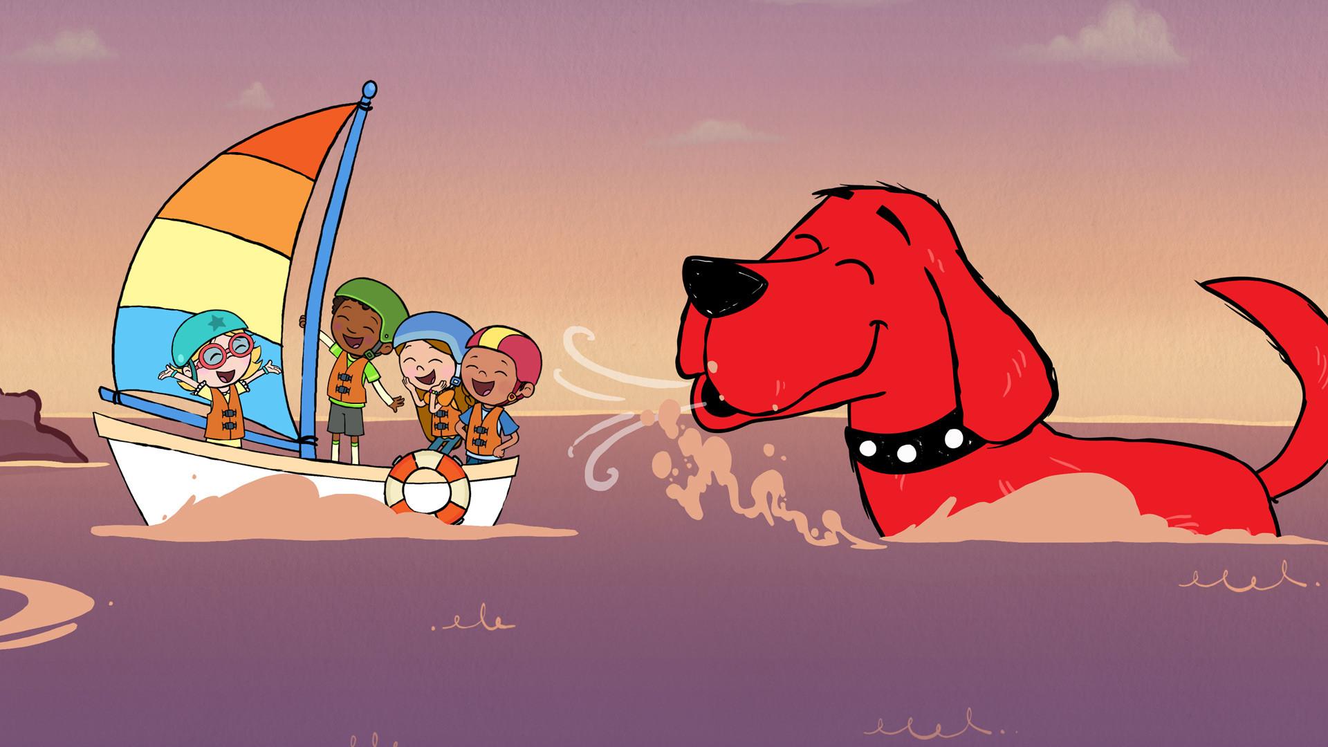Clifford the big red dog _slide_poster